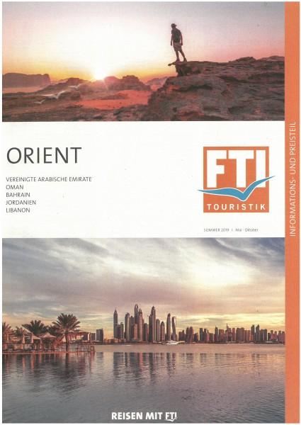 FTI - Orient So.19 PT (Mai - Okt.19)