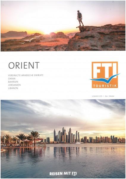 FTI - Orient So.19 BT (Mai-Okt.19)