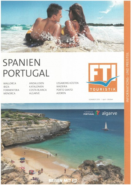 FTI - Spanien, Portugal PT So.19 (Apr.-Okt.19)