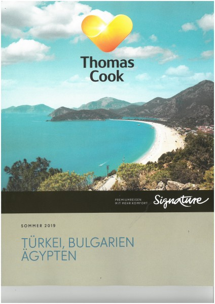 Thomas Cook - Türkei, Bulgarien, Ägypten So.19 BT+PT